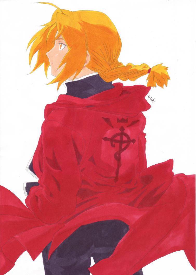 Edward Elric by IshidaYuki