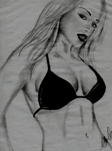 school-black-and-white-drawings-sexy-women-the