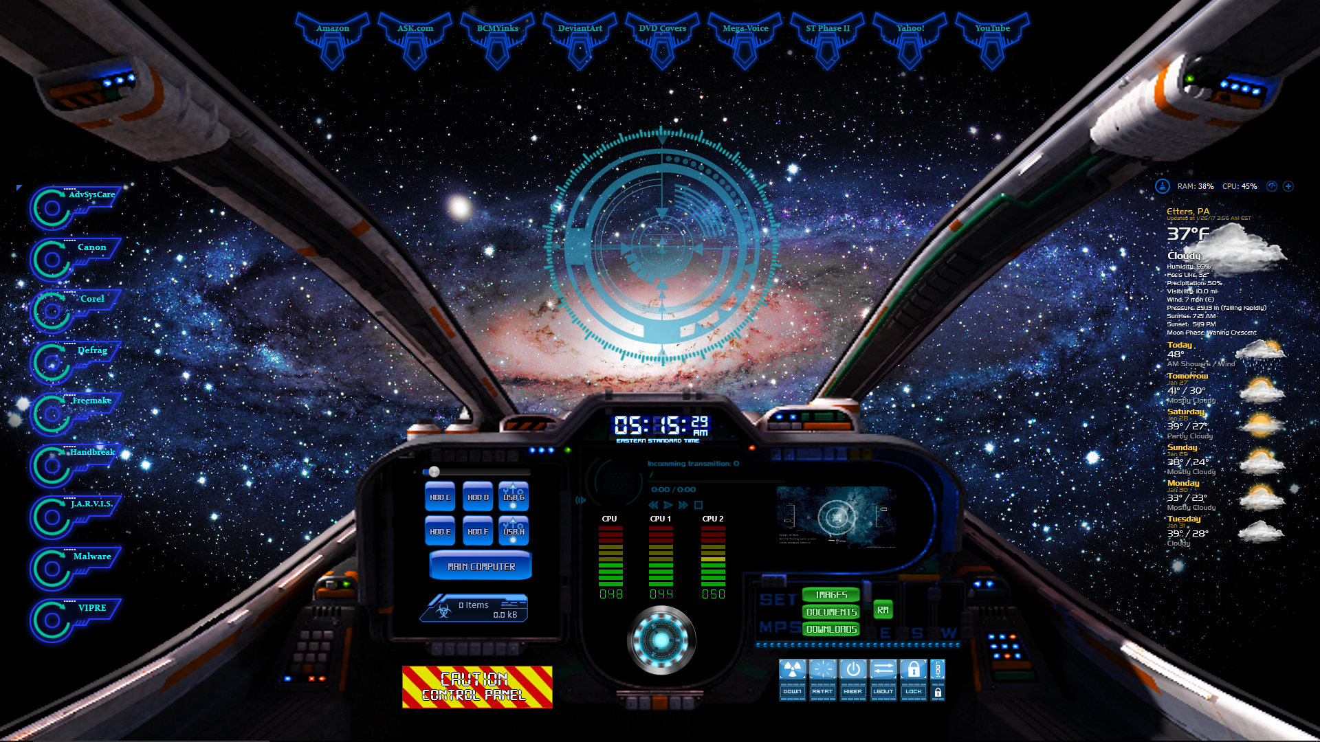 Spaceship Cockpit By Oldcrow10 On Deviantart