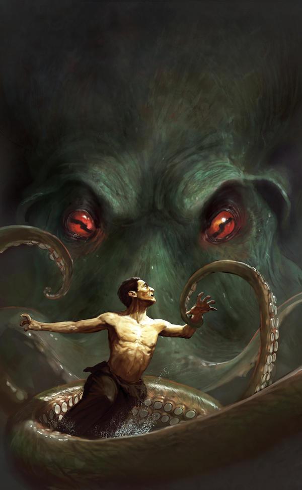 Chtulhu's legend by MarcSimonetti