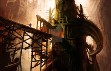 Diablo's horned tower