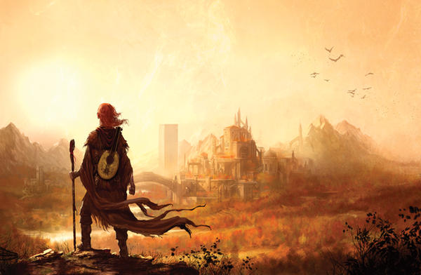 The Name of the Wind by MarcSimonetti