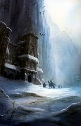 A song of fire and ice, wall
