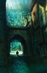 Tyrion in King's landing by MarcSimonetti