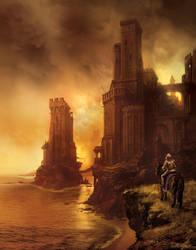 Greyjoy's castle, ASOIAF... by MarcSimonetti