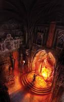 Dying earth II, Jack Vance by MarcSimonetti