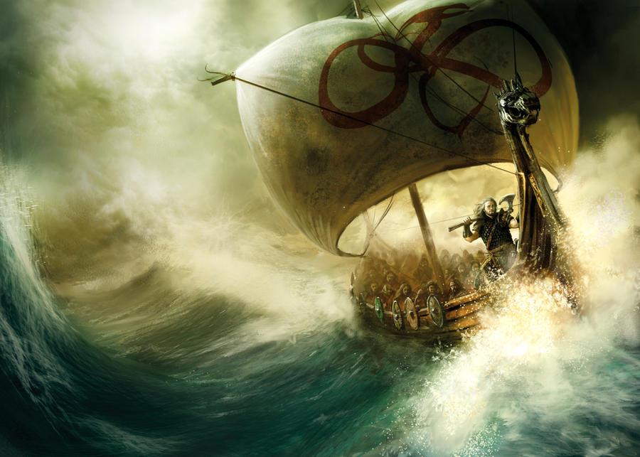 King of sea by MarcSimonetti