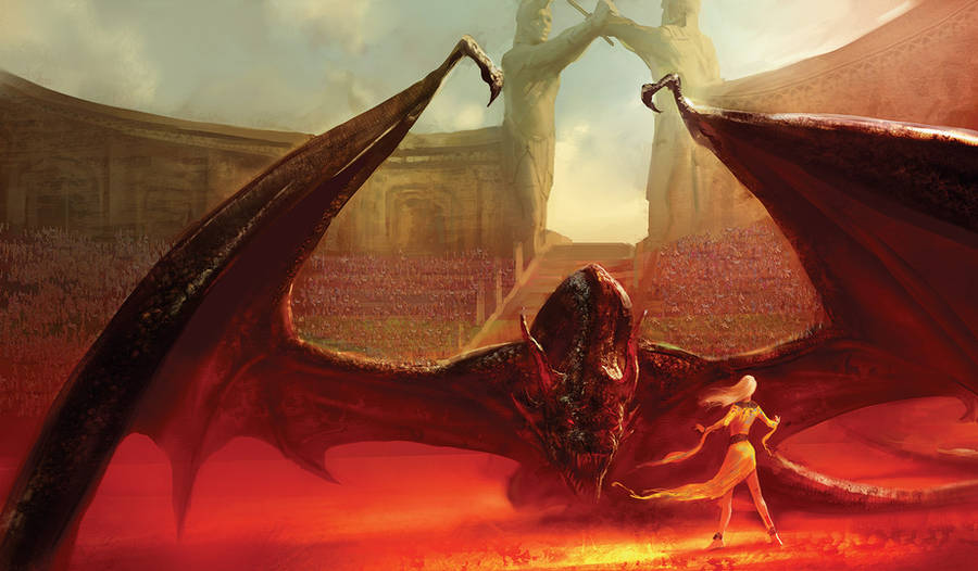 dance with dragons by GRR MARTIN by MarcSimonetti