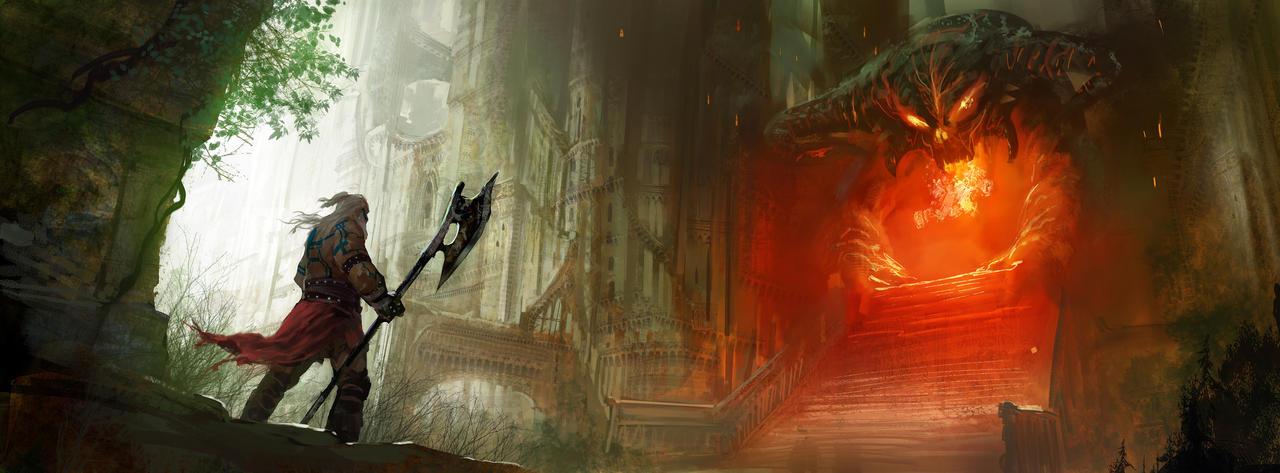Diablo III Fanart by MarcSimonetti