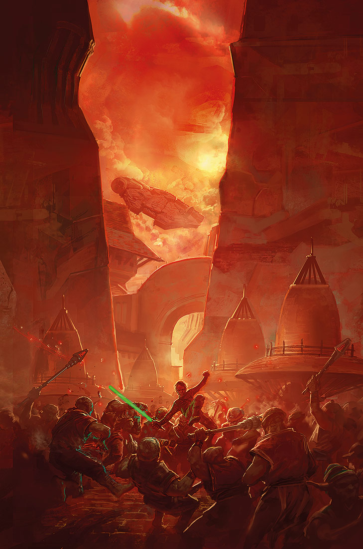 Heir of the Empire, Timothy Zahn by MarcSimonetti