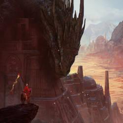 I love dragons by MarcSimonetti