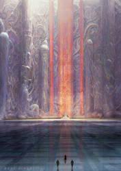 Muad'dib's Throne room by MarcSimonetti