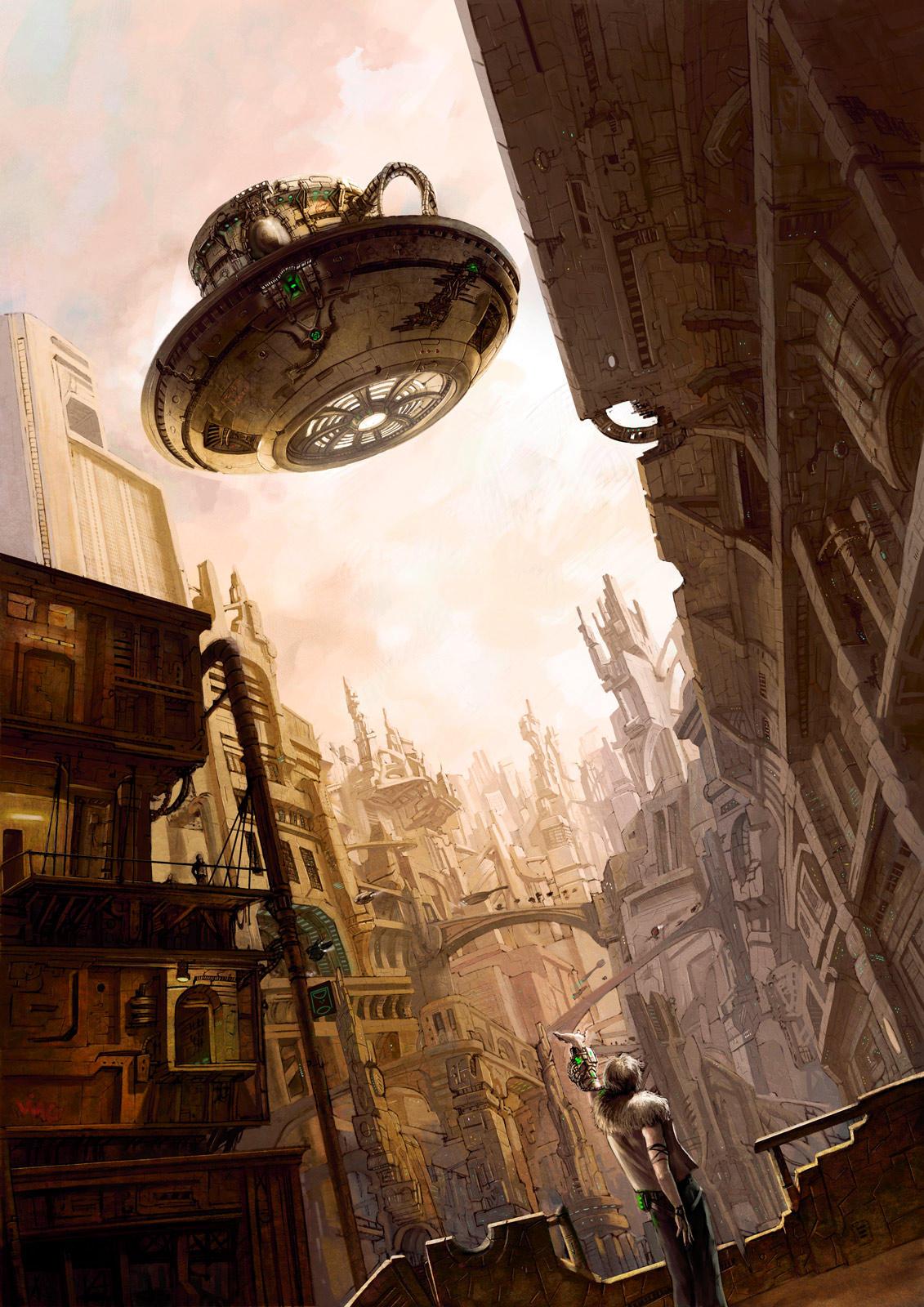 La soucoupe volante by MarcSimonetti