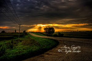 Iowa Sunset 6 by cthacker