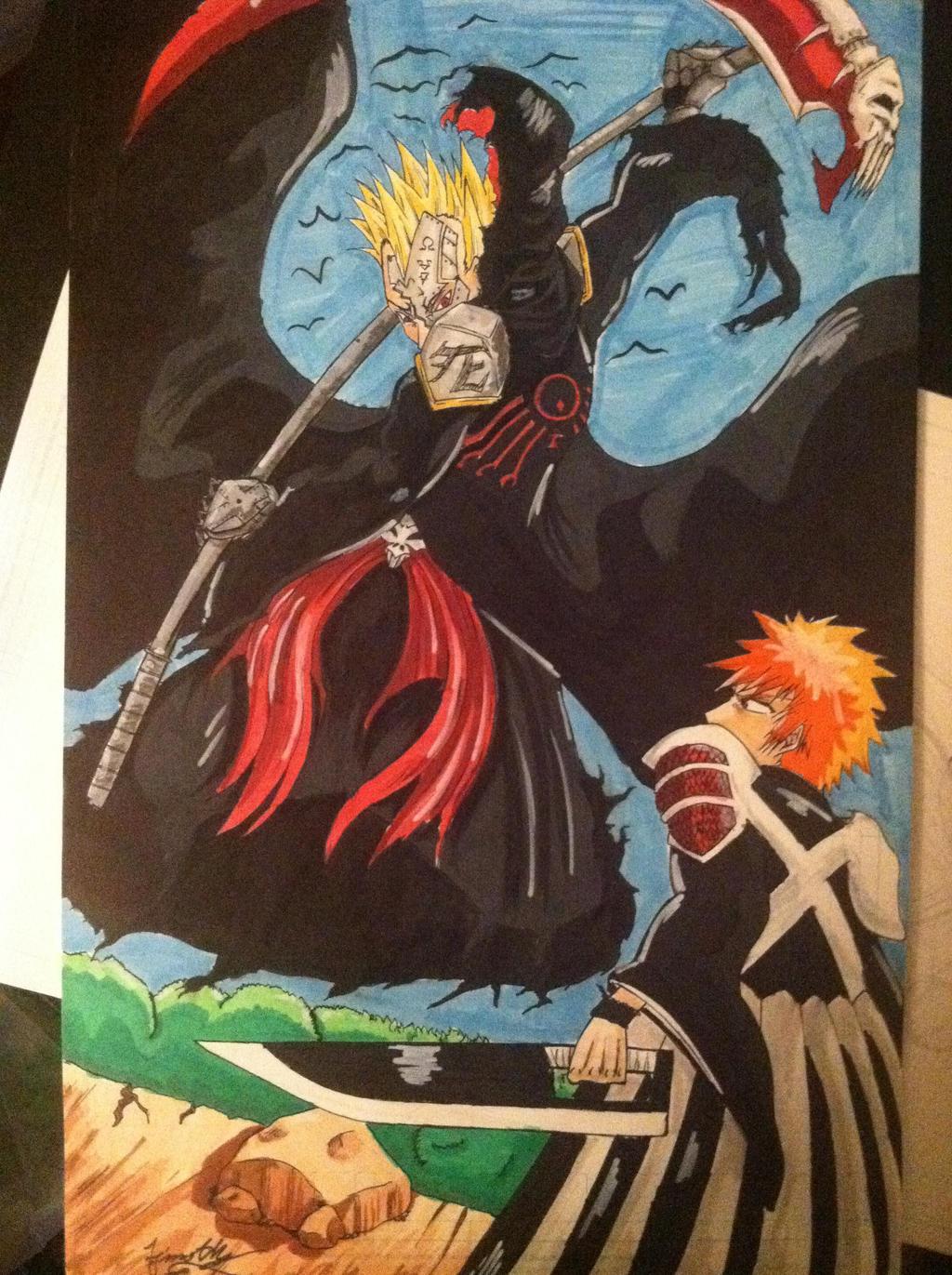 Akashini vs Ichigo by Devastator88