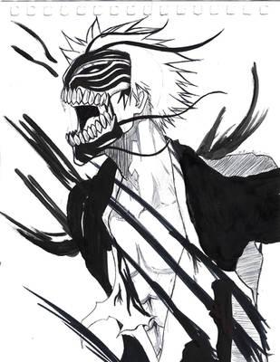 Inktober 3 Ichigo by Devastator88