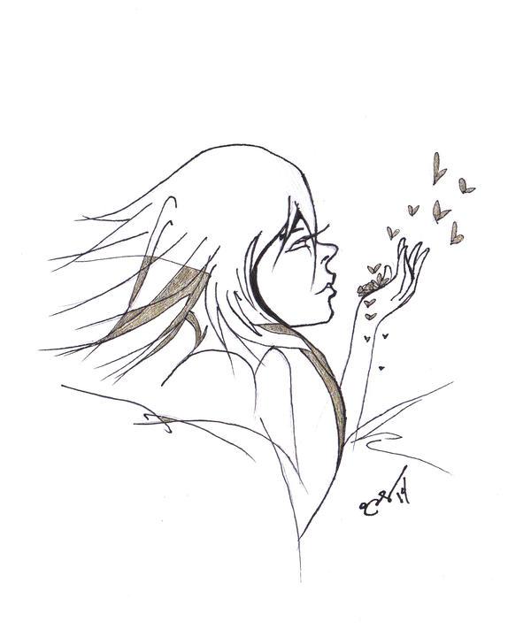 The Daily Sketch 195: Realize. Goodbye. by Eihctim