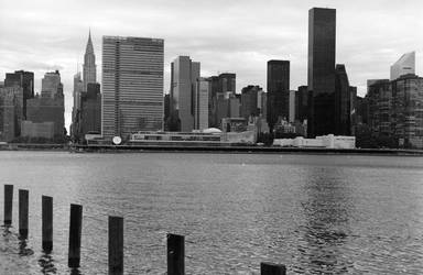 East River waterscape