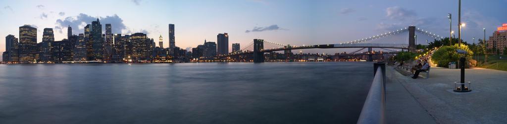 A Manhattan night