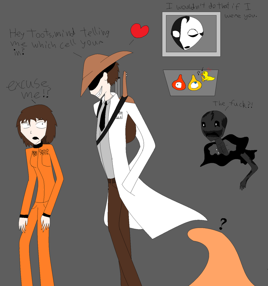 scp drclef wants that dclass by julie797 on deviantart