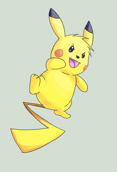 Pikachu. by zayyad1453