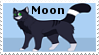 Moon stamp by VexFox