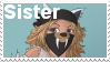 Sister Stamp by VexFox