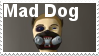 Mad Dog Stamp by VexFox