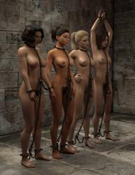Slave Market: Oblique by crabbyoldman