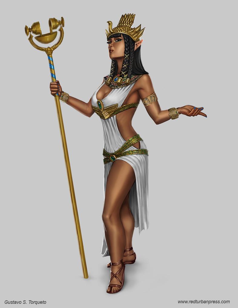 Priestess by GustavoTorqueto
