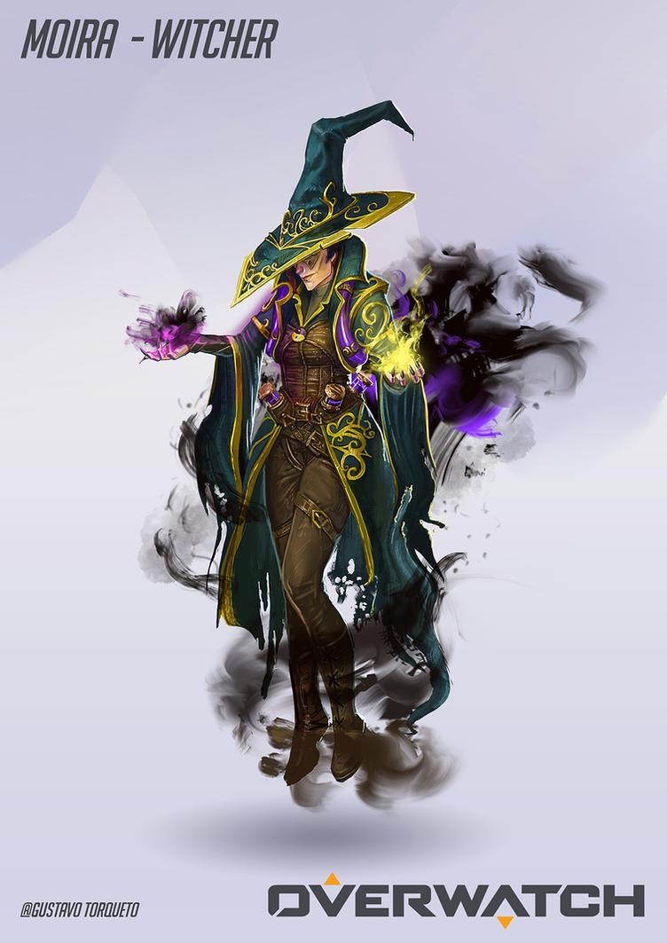Moira - Witch by GustavoTorqueto