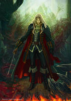Castlevania Symphony of the Night - Alucard by GustavoTorqueto