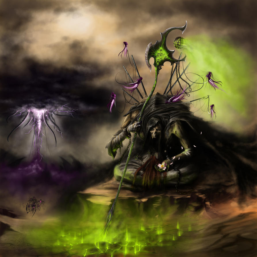 Sharkhek the Shephard of Death by Tanathiel