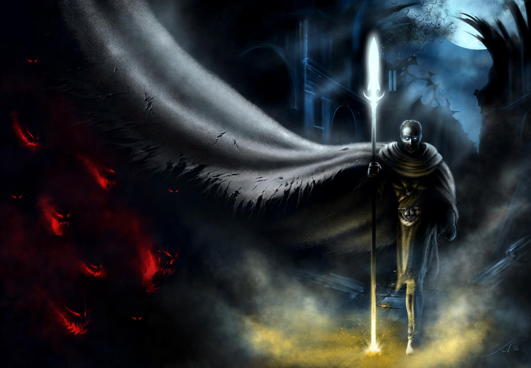 Ghostwalker - Book Cover by Tanathiel