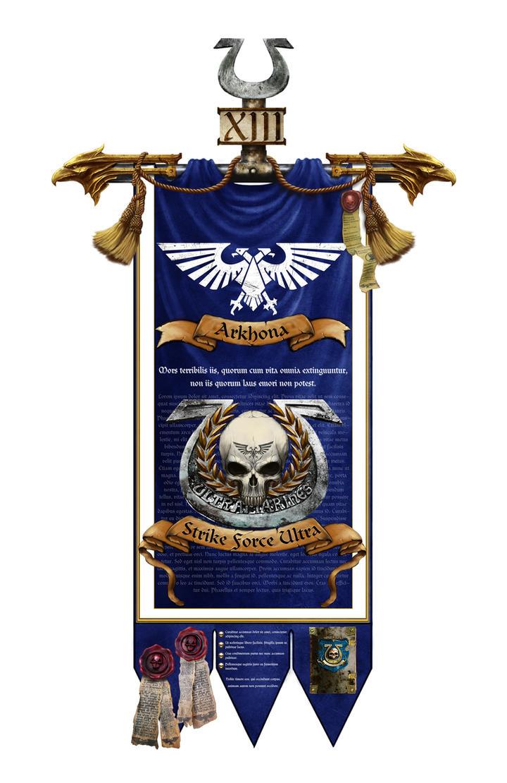 Strike Force Ultra banner by Tanathiel