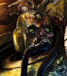 Chaos Chosen Plague Marines2 by Tanathiel