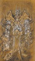 Sauron by Tanathiel