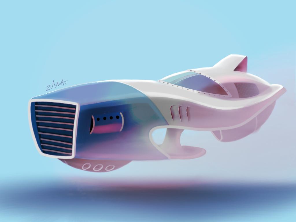 Spacecar by daelirium