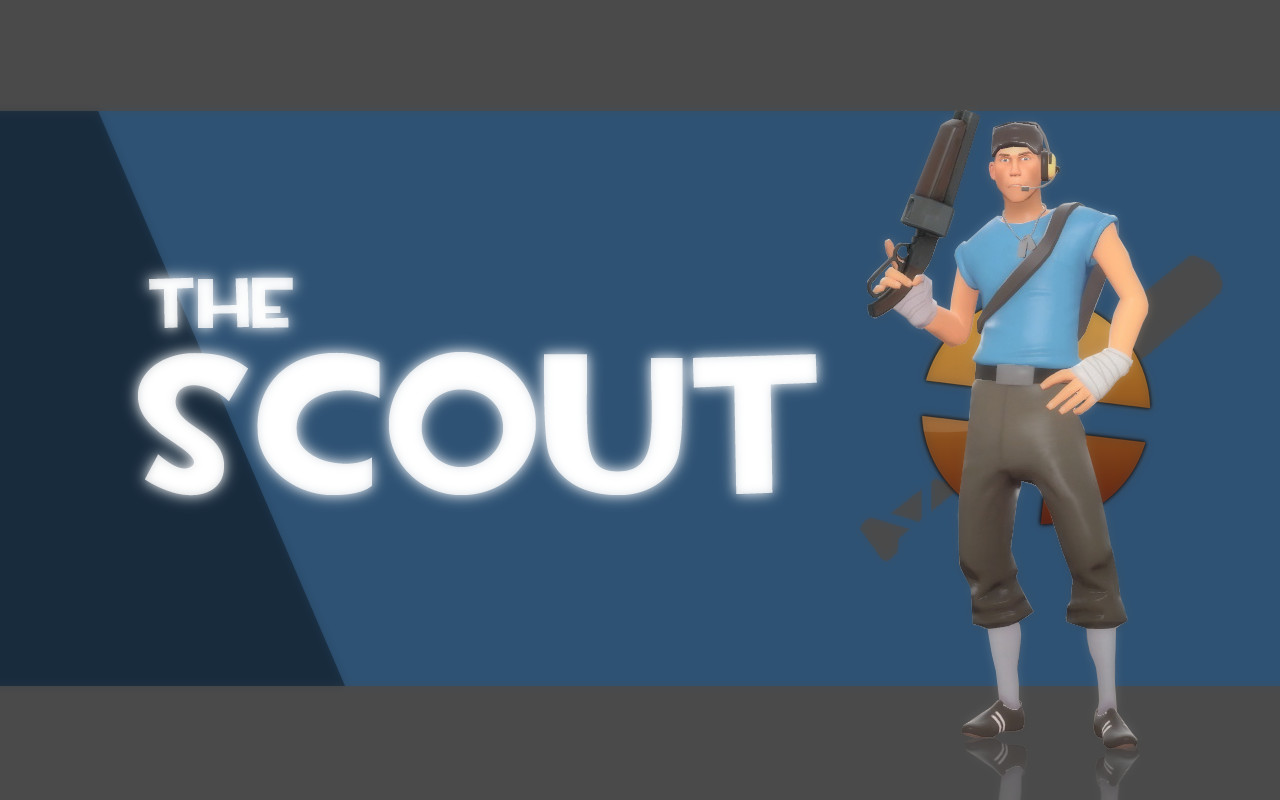 team fortress 2 meet the blu scout and red