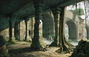 Ruins by Bone-Fish14