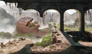 Ruins 02 by Bone-Fish14