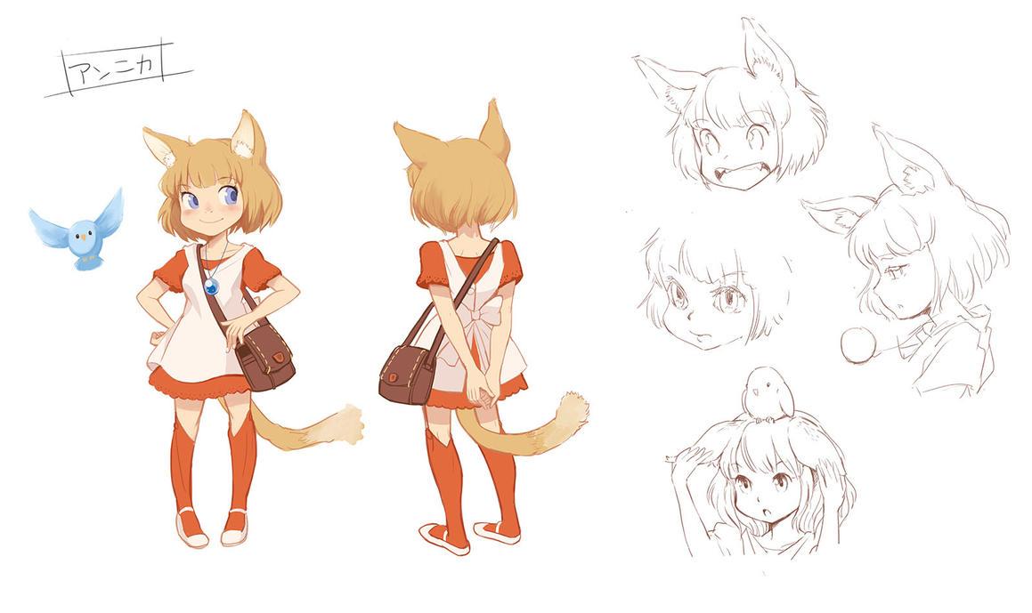 Annika  OriginalGame character by kamipallet