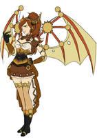 Steampunk Dragon by H-Chan-Arts