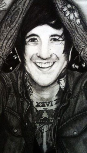 Austin carlile in cherry bloom closeup by i draw bands on - Austin carlile wallpaper ...