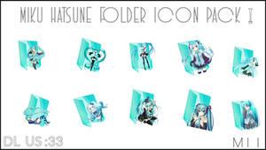 Hatsune Miku folder icon! +DL