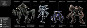 Robot Jox lineup by NoBackstreetboys
