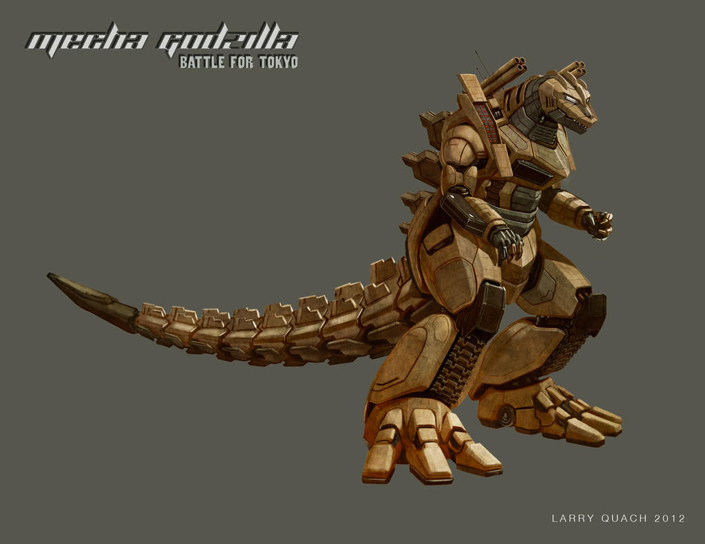 Mecha Godzilla Individual Layouts - Desert Tank by NoBackstreetboys