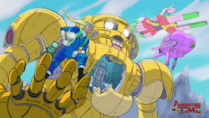Adventure Time x Mobile Suit Gudam