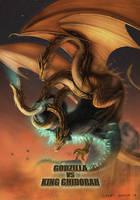 Godzilla Vs Ghidorah Version 2
