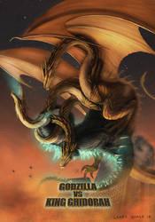 Godzilla Vs Ghidorah Version 2 by NoBackstreetboys